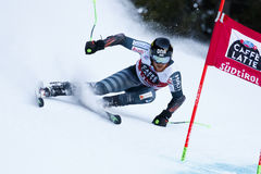 TORSTI Samu in Audi Fis Alpine Skiing World-Schale stockfotografie