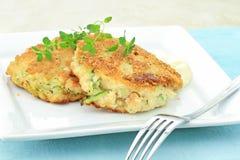 tortów kraba zucchini Obraz Royalty Free