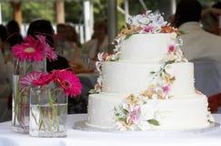 tort ślub zdjęcie stock