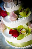 tort ślub zdjęcie royalty free