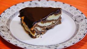 tort czekoladowy lukier Fotografia Royalty Free