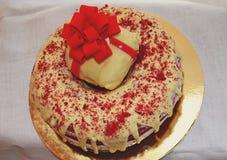 tort czerwony aksamit Zdjęcia Stock
