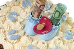 Tort dla dziecka Fotografia Royalty Free