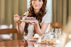 Tort i kawa Obraz Royalty Free