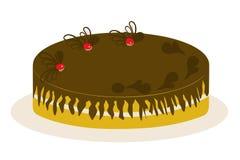 Tort - ilustracja Zdjęcia Royalty Free