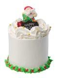 Tort, lody Bożenarodzeniowy tort obraz stock