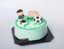 tort lub futbolu tort na tle Obraz Royalty Free