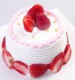 tort lub lody urodzinowy tort na tle obraz stock