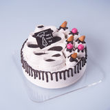 tort lub ojca dnia tort na tle Zdjęcie Stock