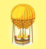 Tort na gorące powietrze balonie Obraz Stock