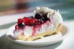 tort na talerzu Fotografia Royalty Free