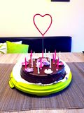 Tort od matek urodzinowych zdjęcie royalty free