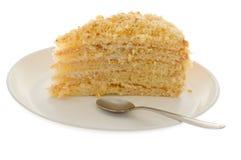 tort odizolowywający obraz stock