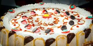 Tort opłukujący zdjęcie stock