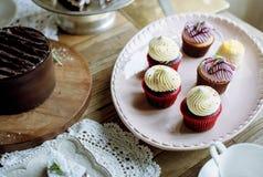 Tort piekarni wydarzenia przyjęcia Wyśmienicie Deserowy przyjęcie Fotografia Royalty Free