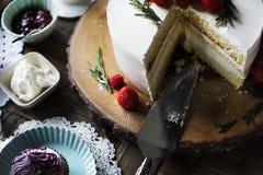Tort piekarni wydarzenia przyjęcia Wyśmienicie Deserowy przyjęcie Obraz Royalty Free