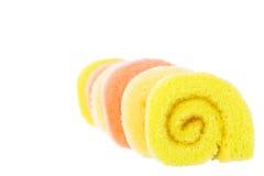 Tort rolki Zdjęcie Stock