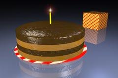 tort urodzinowy. royalty ilustracja
