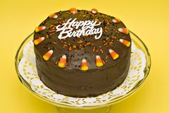 tort urodzinowy. zdjęcia stock