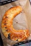 Tort wypełniający z śliwkowym dżemem Fotografia Stock