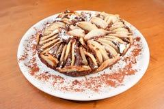 Tort z bonkretą i czekoladą Fotografia Stock