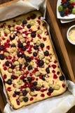 Tort z jagodami Fotografia Stock