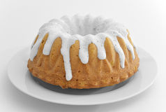 Tort z lodowaceniem zdjęcie royalty free