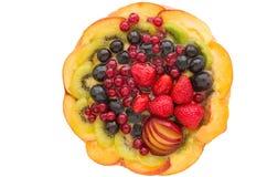 Tort z owoc Zdjęcia Stock