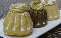 Tort z wanilią, czekoladą i mokką, Obraz Royalty Free