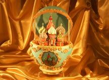 Torta única del huevo de Faberge Imagen de archivo libre de regalías