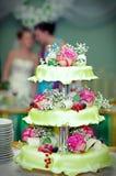 Torta 7 do casamento Fotos de Stock