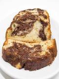 Torta abigarrada del ciruelo. Imagen de archivo libre de regalías