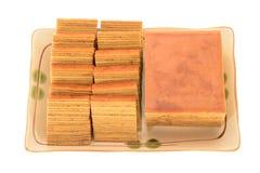 Torta acodada fotos de archivo