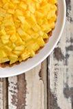 Torta agria de la fruta fresca del mango fotografía de archivo