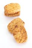 Torta al forno crema Fotografia Stock Libera da Diritti