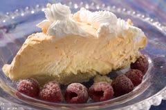 Torta alaranjada de Creamsicle Fotografia de Stock