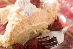 Torta alaranjada de Creamsicle Fotos de Stock Royalty Free
