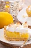 Torta americana del limón Foto de archivo