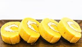 Torta anaranjada Imágenes de archivo libres de regalías