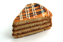 Torta appetitosa Fotografia Stock Libera da Diritti