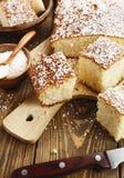Torta araba del semolino fotografie stock libere da diritti