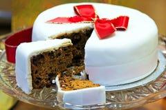 Torta blanca Imagen de archivo