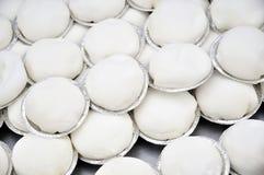 Torta blanca Imagen de archivo libre de regalías