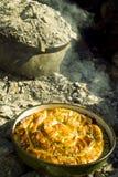 Torta bosniana tradicional Burek Foto de Stock Royalty Free