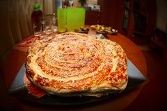 Torta casalinga Immagine Stock