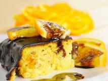 Torta caseiro do coalho Imagem de Stock