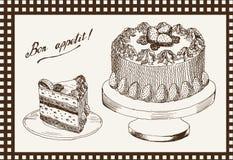 Torta celebradora Foto de archivo libre de regalías