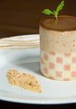 Torta Checkered immagine stock