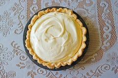 Torta chiffona del limone Immagine Stock Libera da Diritti
