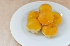 Torta china de los pasteles o de la luna, postre por Año Nuevo chino Fotos de archivo
